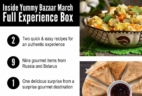 Yummy Bazaar March 2017 Full Experience Box Theme Spoiler!