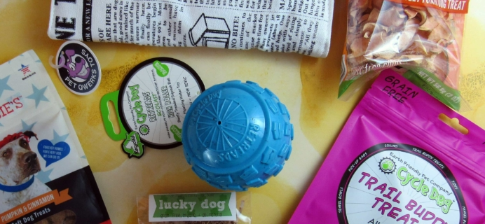 The Dapper Dog Box March 2017 Subscription Box Review + Coupon