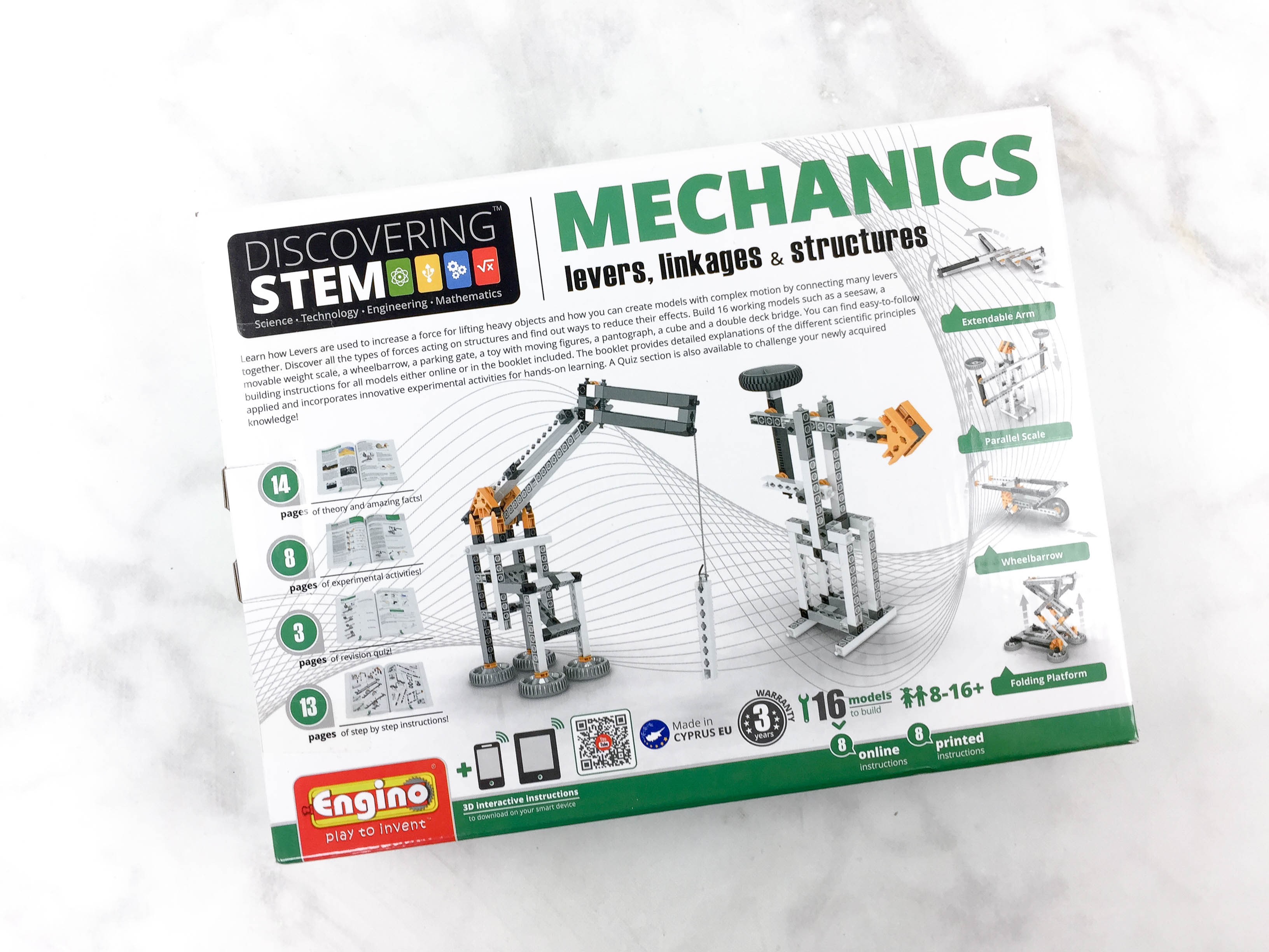 Amazon STEM Toy Club April 2017 Subscription Box Review – 8 to 13 Year Old Box
