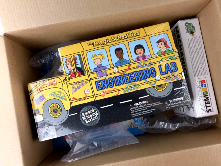 Amazon Stem Toy Club April 2017 Subscription Box Review 5 To 7