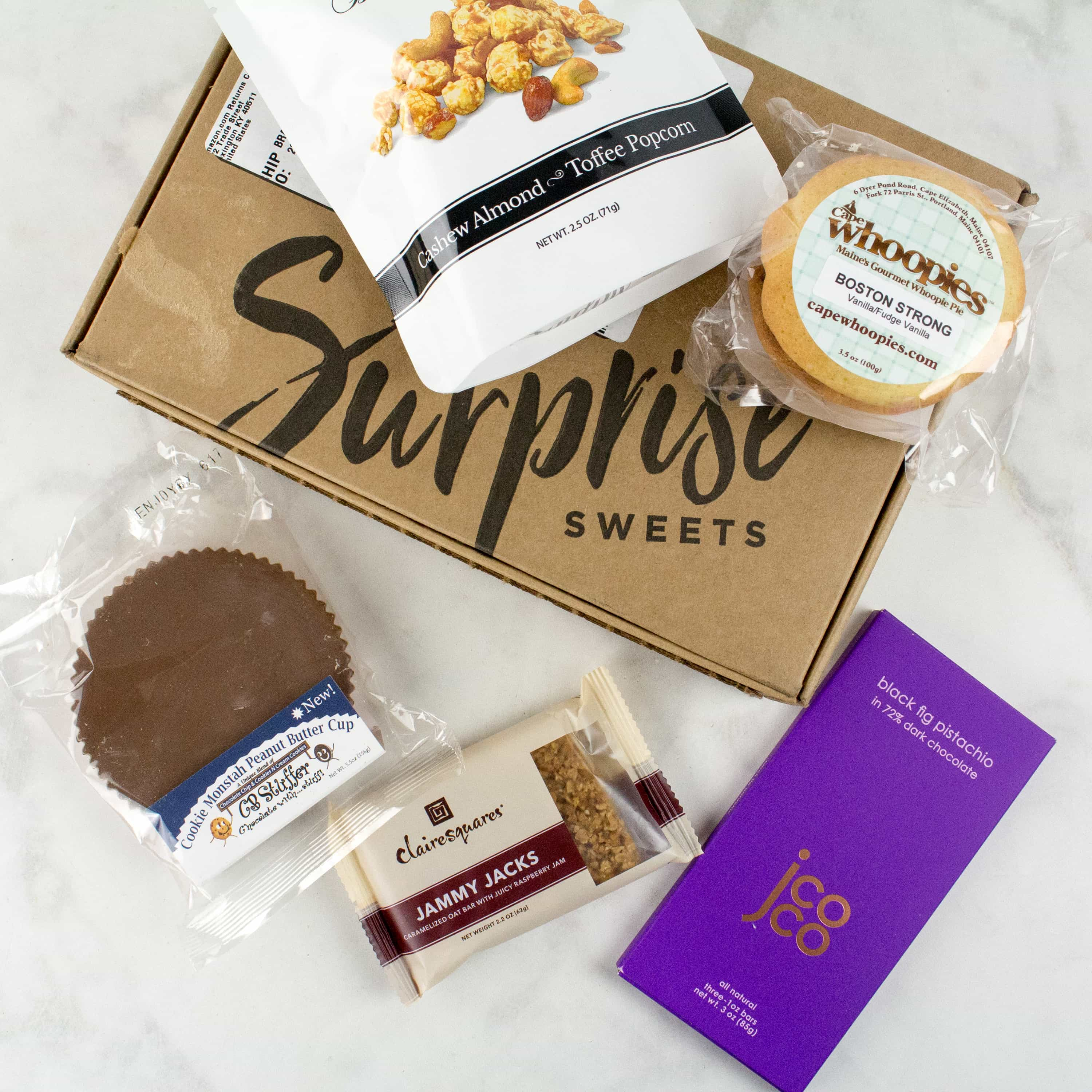 Amazon Prime Surprise Sweets Box March 2017 Review