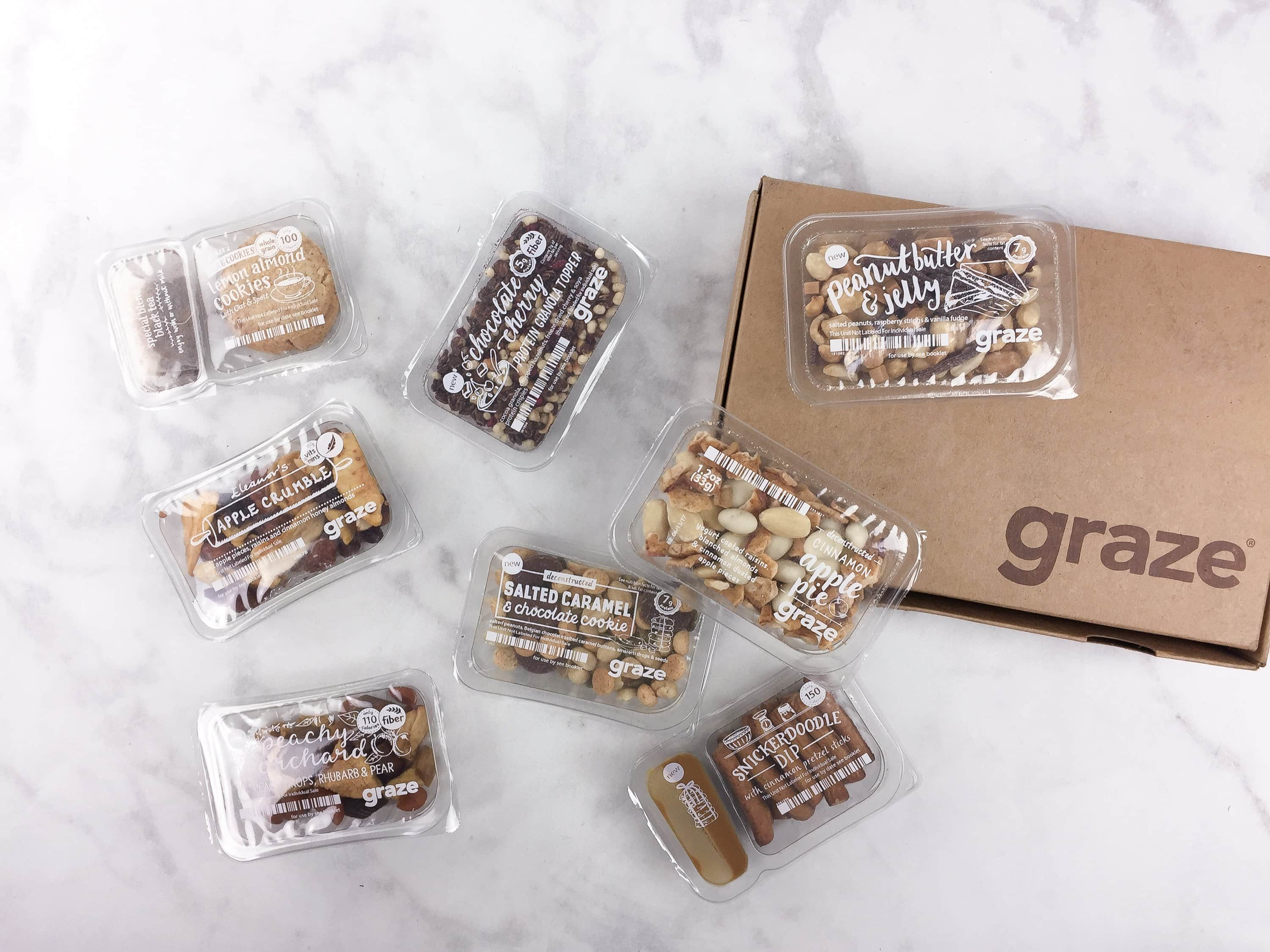 Graze Sweet Treat Box Review & Free Box Coupon – April 2017