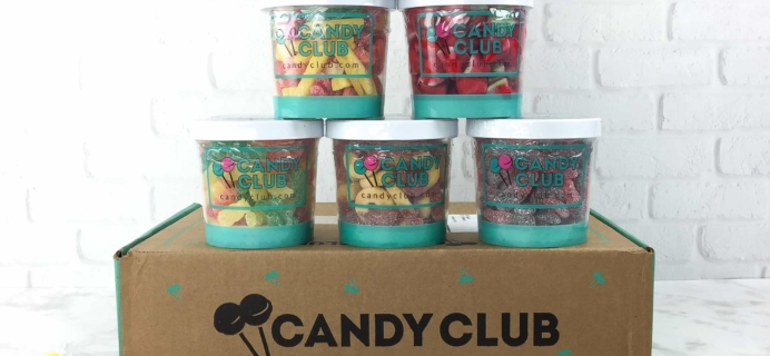 Candy Club March 2017 Subscription Box Review & Coupon – 6 Candy Box