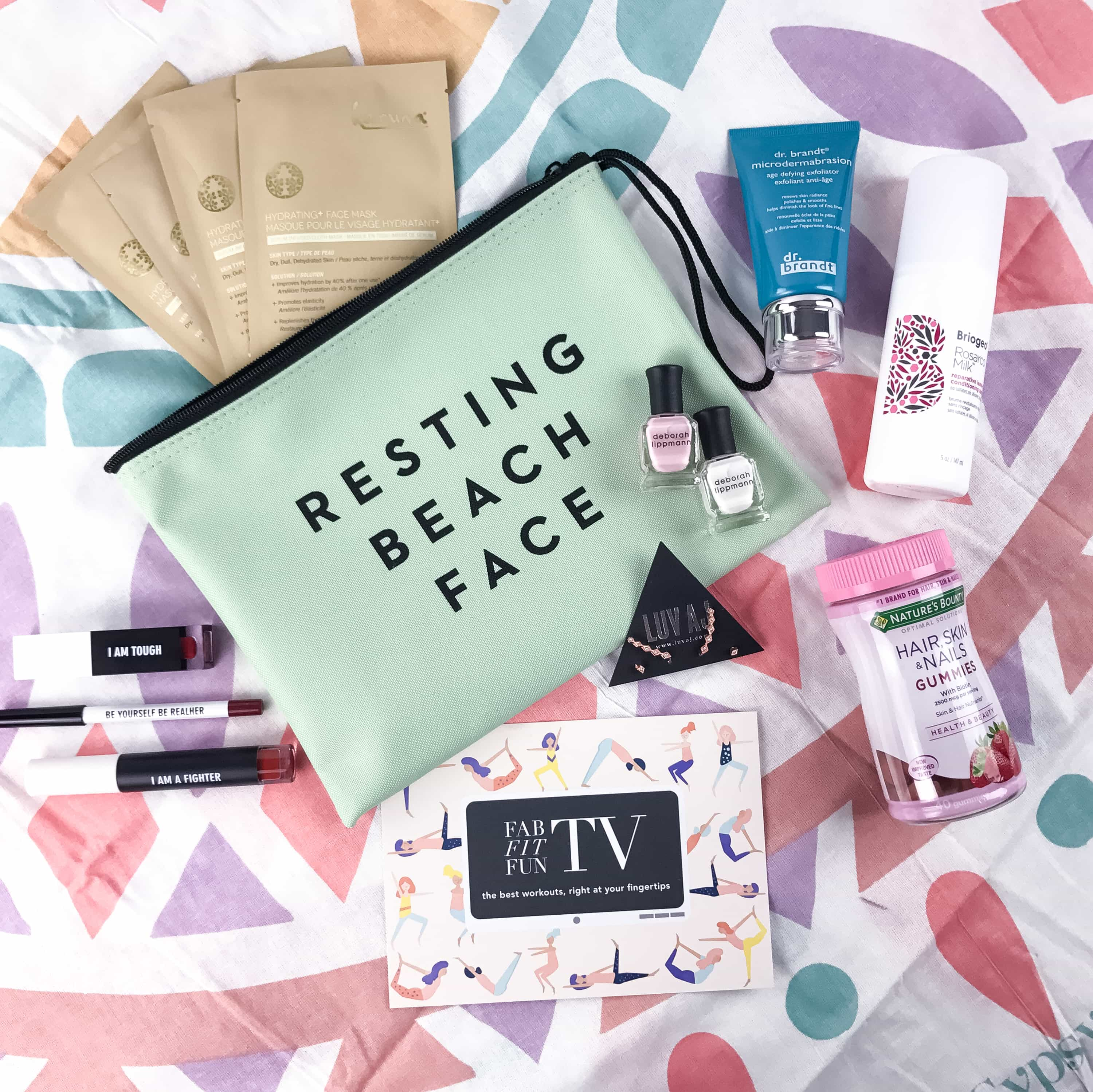 Check out my review of the Spring FabFitFun subscription box and save $10 off your first box with our coupon code!