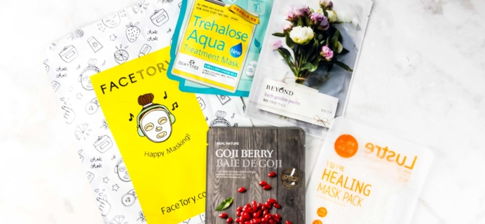 FaceTory April 2017 Subscription Box Review – FOUR-ever Fresh