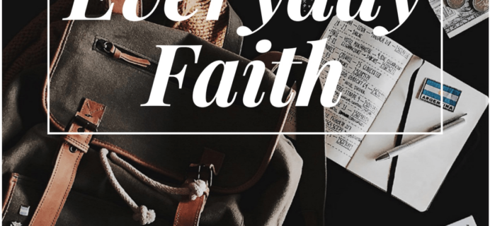 Faithbox Subscription Update + Coupon + Free Every Day Faith Download!