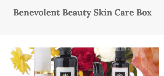 Benevolent Beauty Skincare Limited Edition Box Available Now
