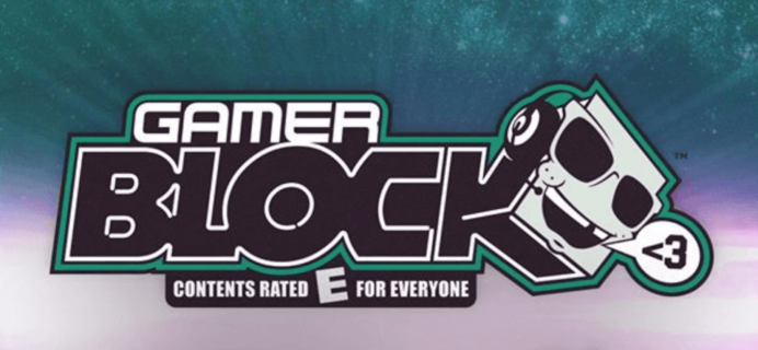 Gamer Block E for Everyone March 2017 Spoilers + Coupon!