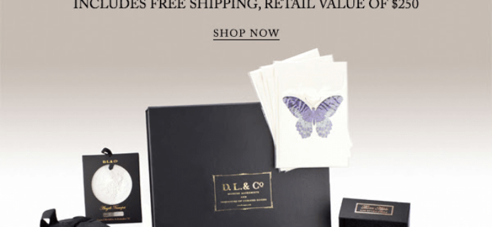 DL & Co Limited Edition Spring Romance Gift Box – Available Now
