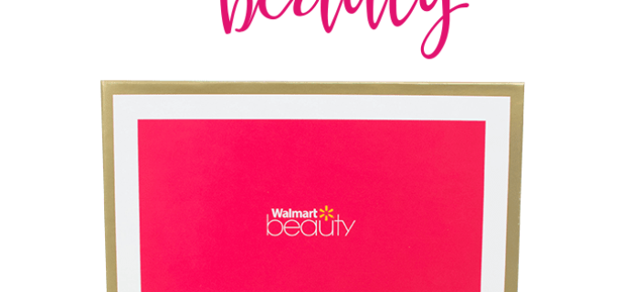 Walmart Beauty Box – Spring 2017 Box Available Now!