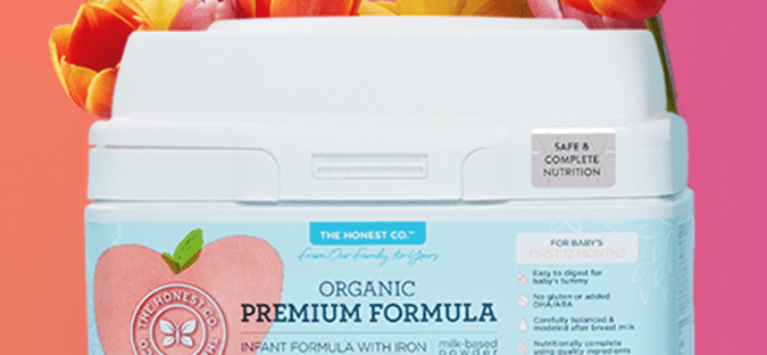 Honest Company Baby Formula Bundle: First Box 50% Off Deal!