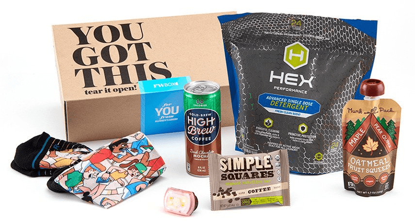 New Subscription Box: Runner's World Box!