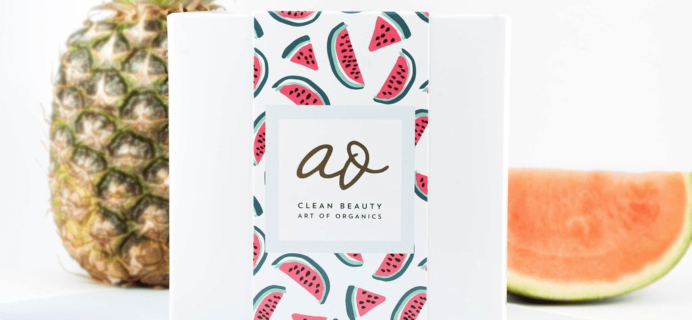 The Clean Beauty Box by Art of Organics April 2017 Full Spoilers + Coupon!