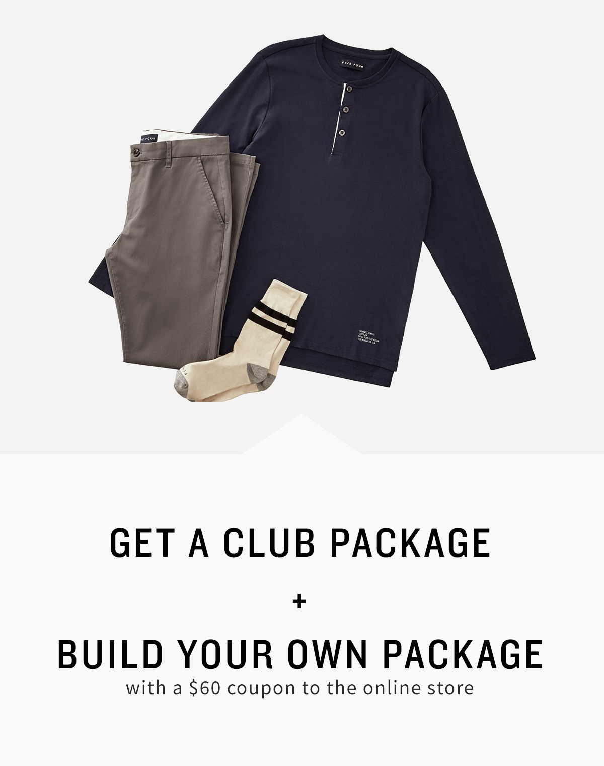 Five Four Club Deal: Subscribe & Get $60 Store Coupon!