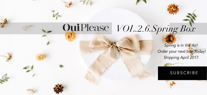 Oui Please Volume 2.6 Box Full Spoilers + Coupon!