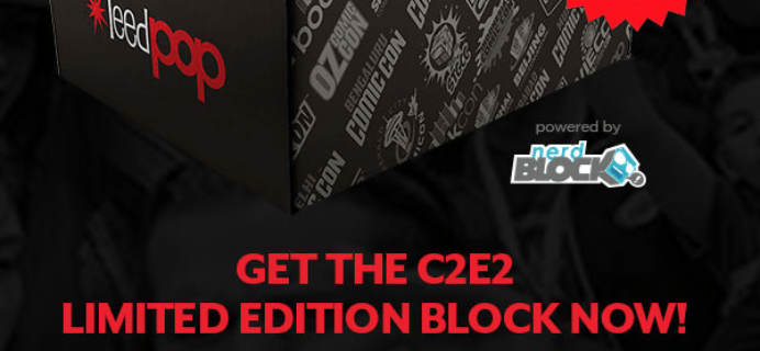 Nerd Block & ReedPop C2E2 Limited Edition Box Spoiler #2 + Update!