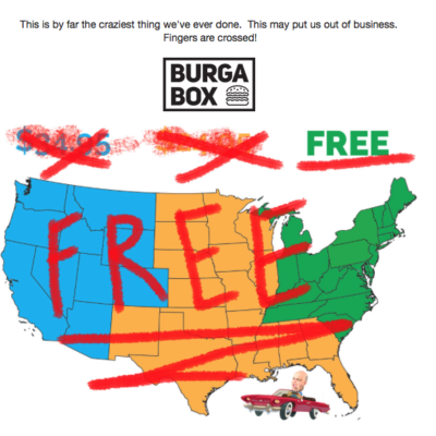 Burgabox Free Nationwide Shipping Available Now + Coupon!