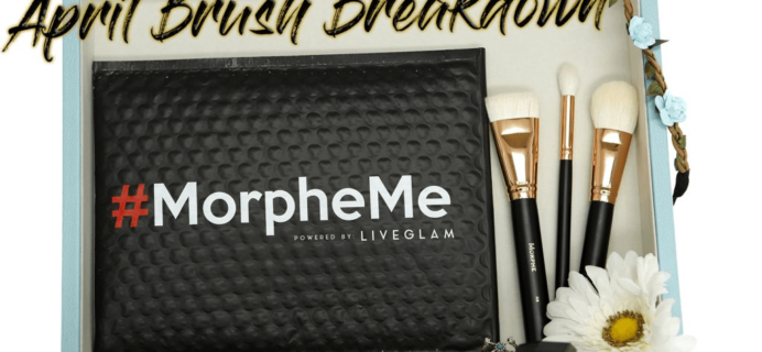 MorpheMe April 2017 Brush Club Spoilers + Coupon!
