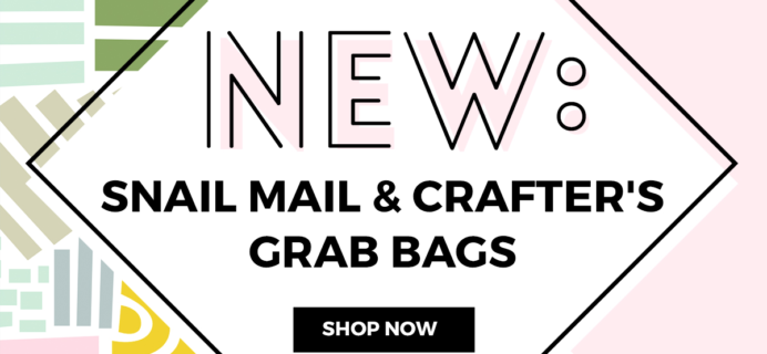 A Beautiful Mess Grab Bag Sale: Snail Mail + Crafter's Bags!