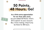 Birchbox Aces: 2 Days Only – 50 Extra Points To Spend!