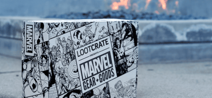 Loot Crate Marvel Gear + Goods May 2017 Full Spoilers!