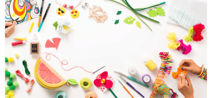 New TARGET Subscription Box: Art & Craft Kit Subscription for Kids! Back in Stock!