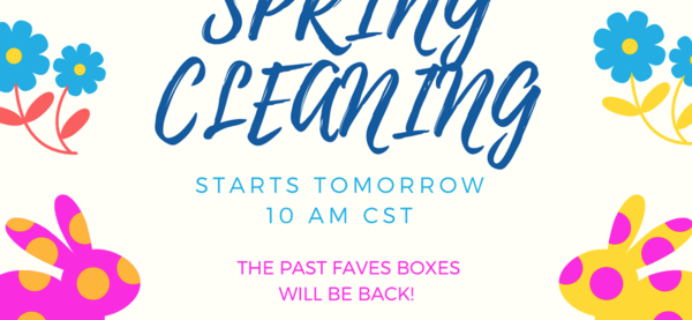 LuxePineapple Post Spring Cleaning Mystery Boxes Starts at 11 Eastern!