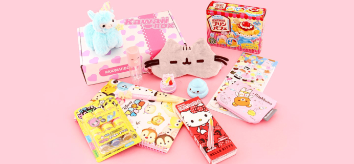 Kawaii Box March 2019 Spoiler + Coupon!