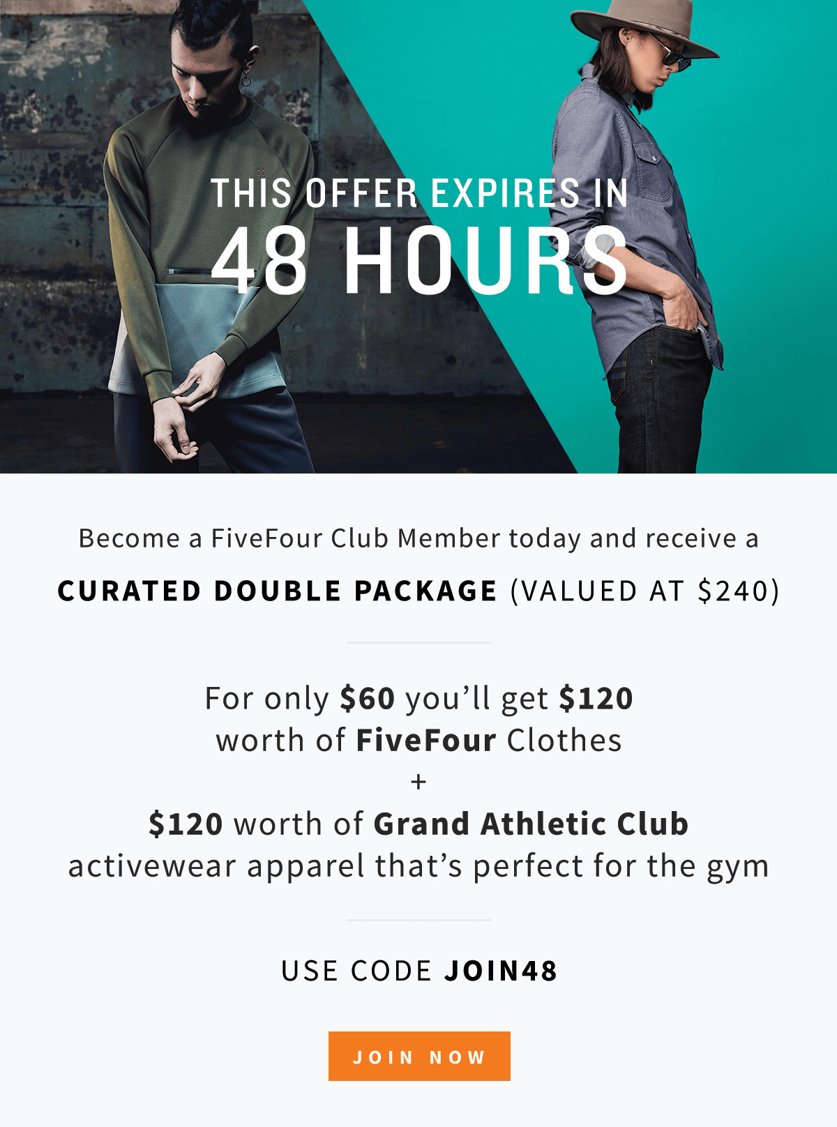 Five Four Club Deal: Double the Value of Clothes In First Month!