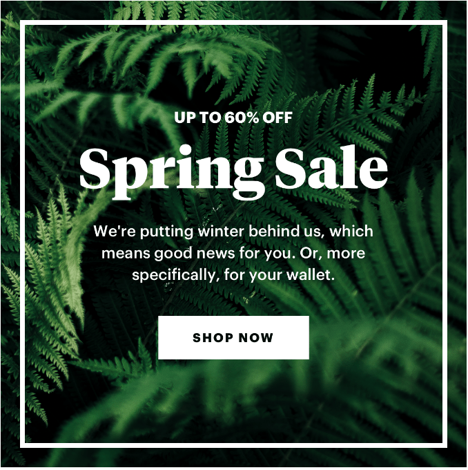 Bespoke Post Spring Sale – Up to 60% off!