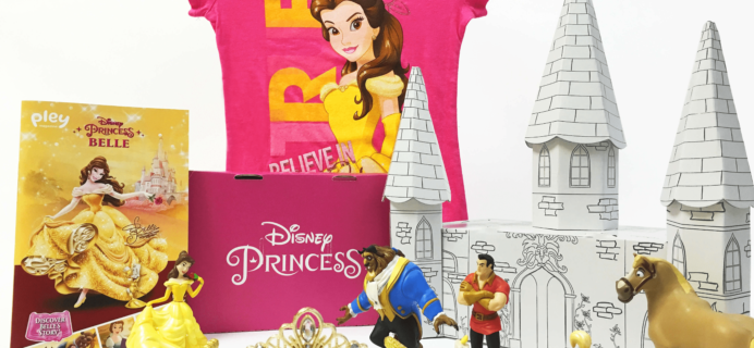 Disney Princess Pleybox March 2017 Complete Spoilers!