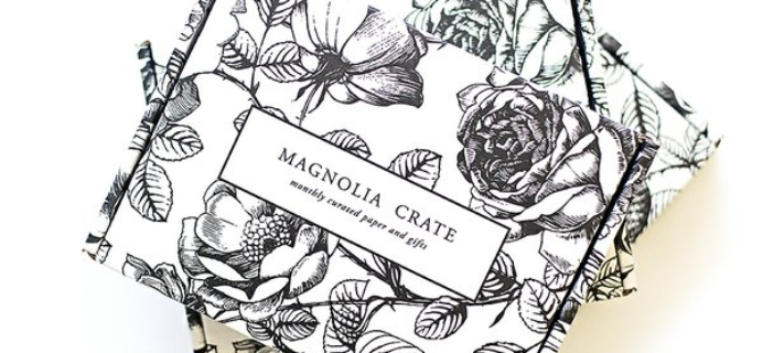 Magnolia Crate Cyber Monday Sale: 30% Off Subscriptions!
