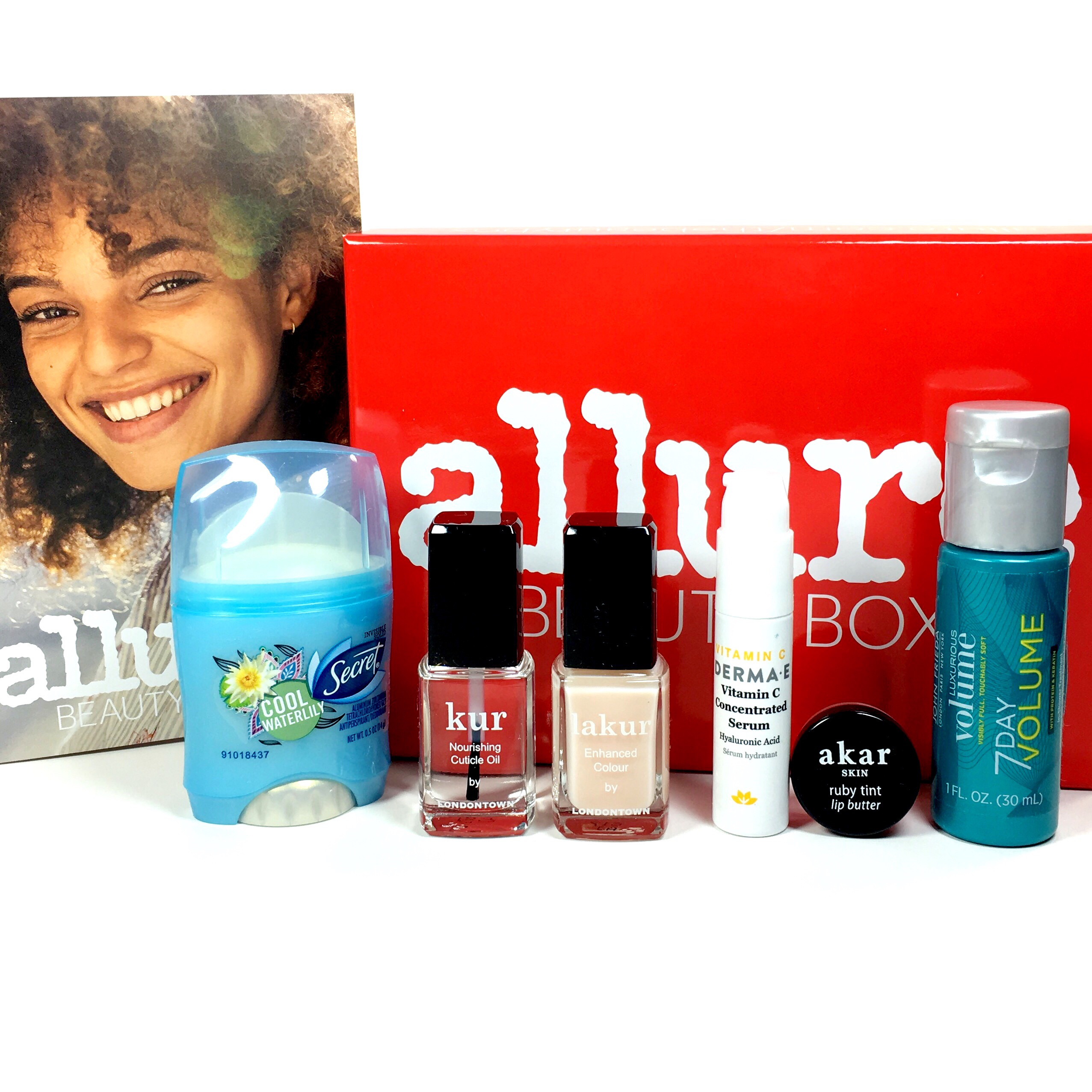 Allure Beauty Box March 2017 Subscription Box Review & Coupon
