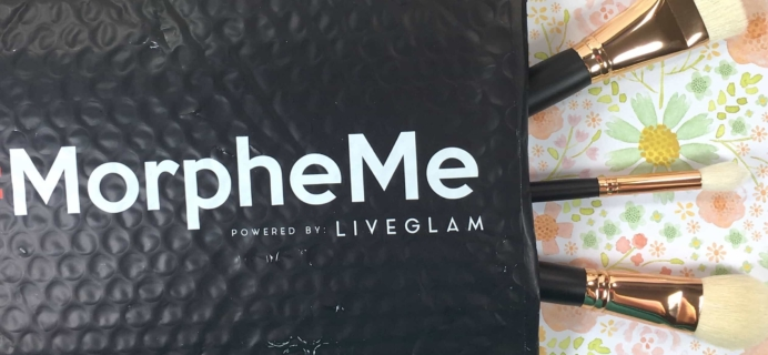 MorpheMe Brush Club April 2017 Subscription Box Review + Free Brush Coupon!