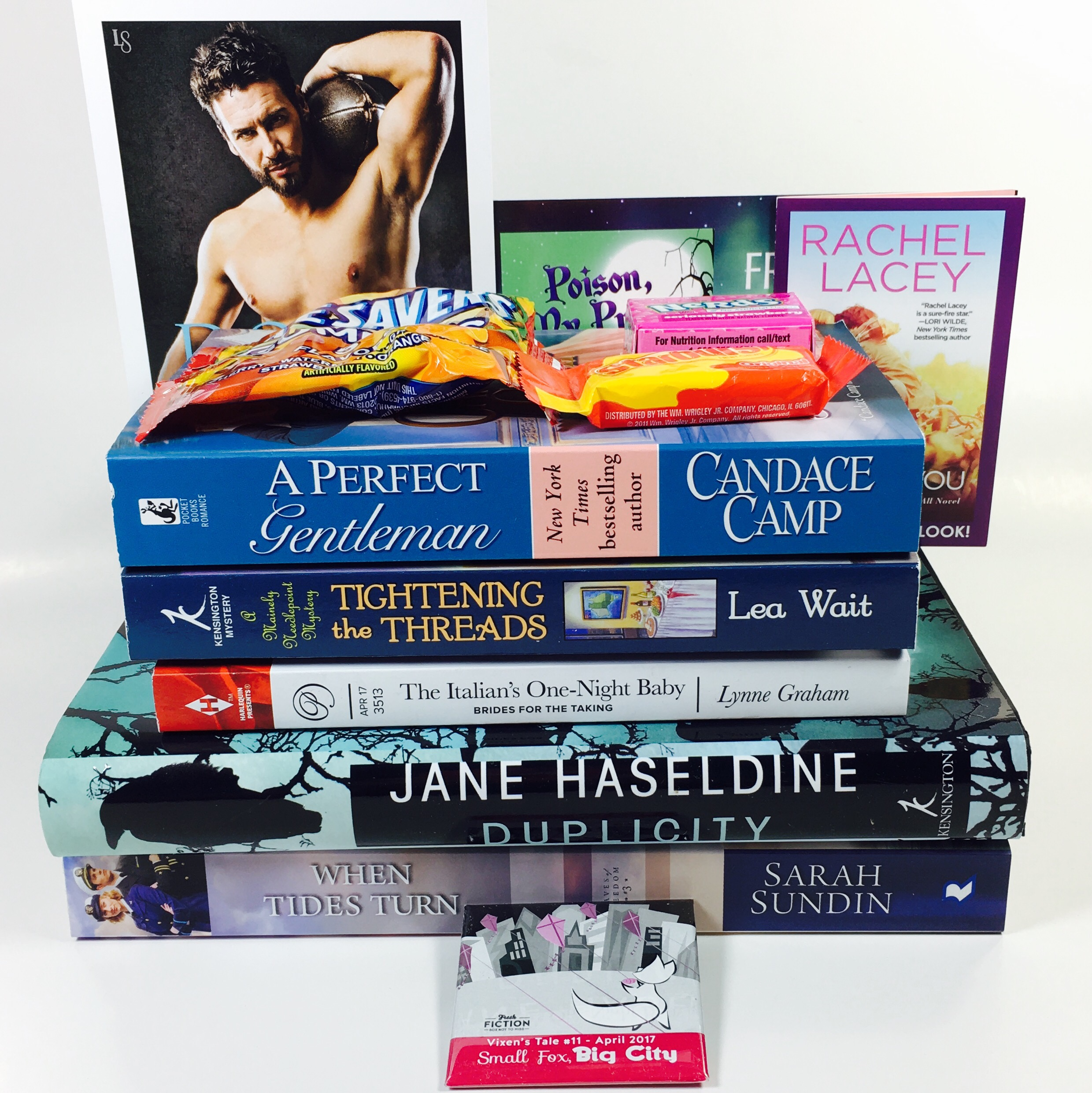 Fresh Fiction Box April 2017 Subscription Box Review + Coupon