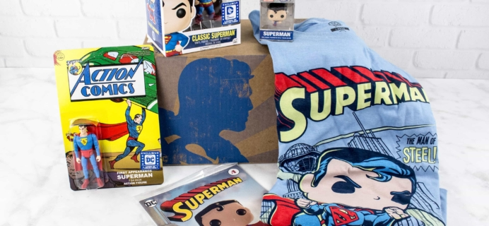 DC Legion of Collectors March 2017 Subscription Box Review