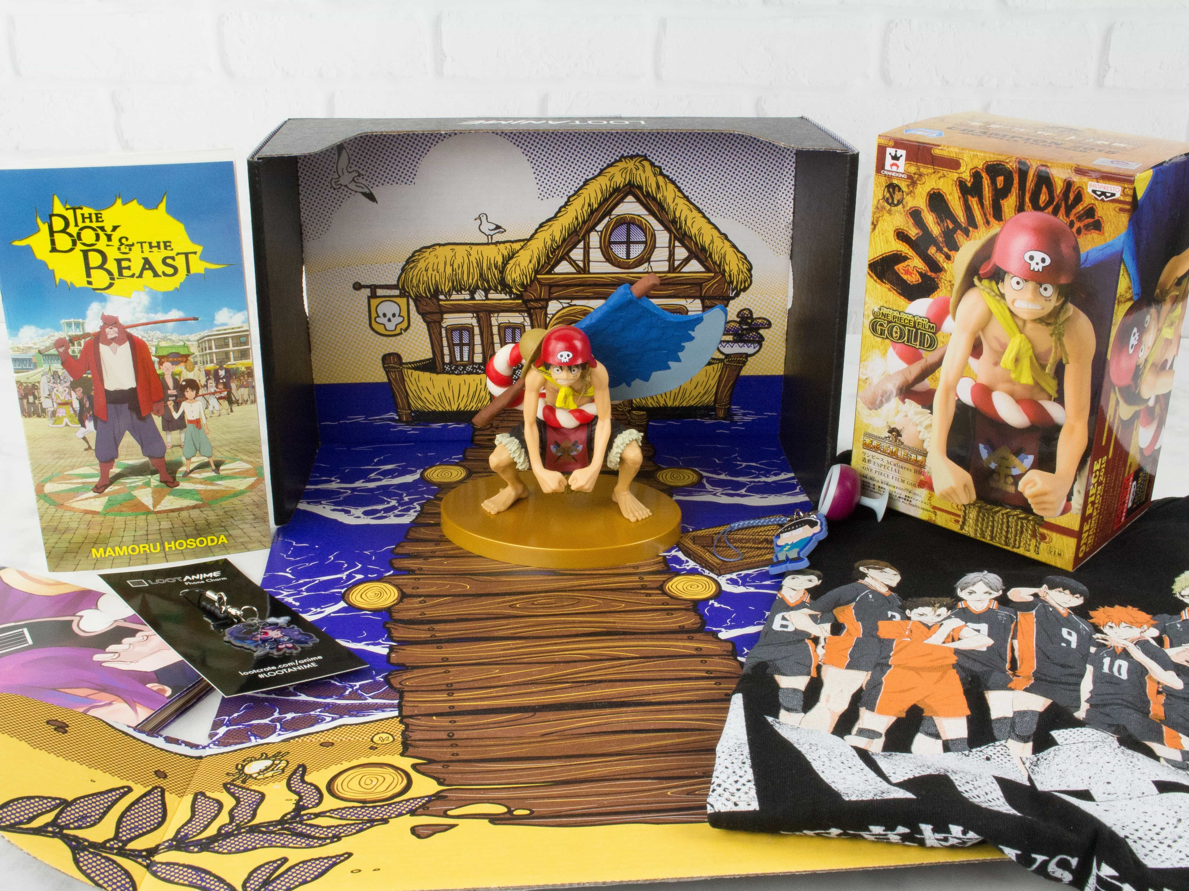 Loot Anime February 2017 Subscription Box Review & Coupons – TOGETHER