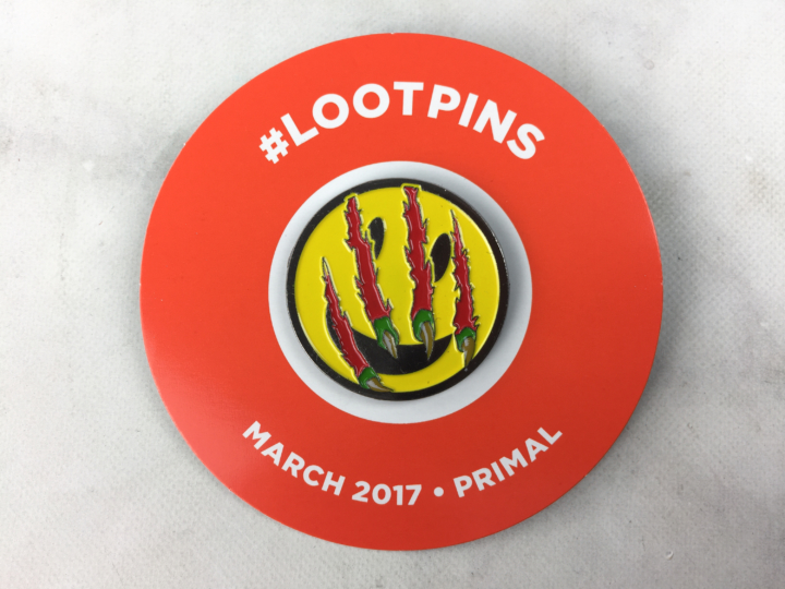 Smile Face Pin Loot Crate Pin Primal March 2017