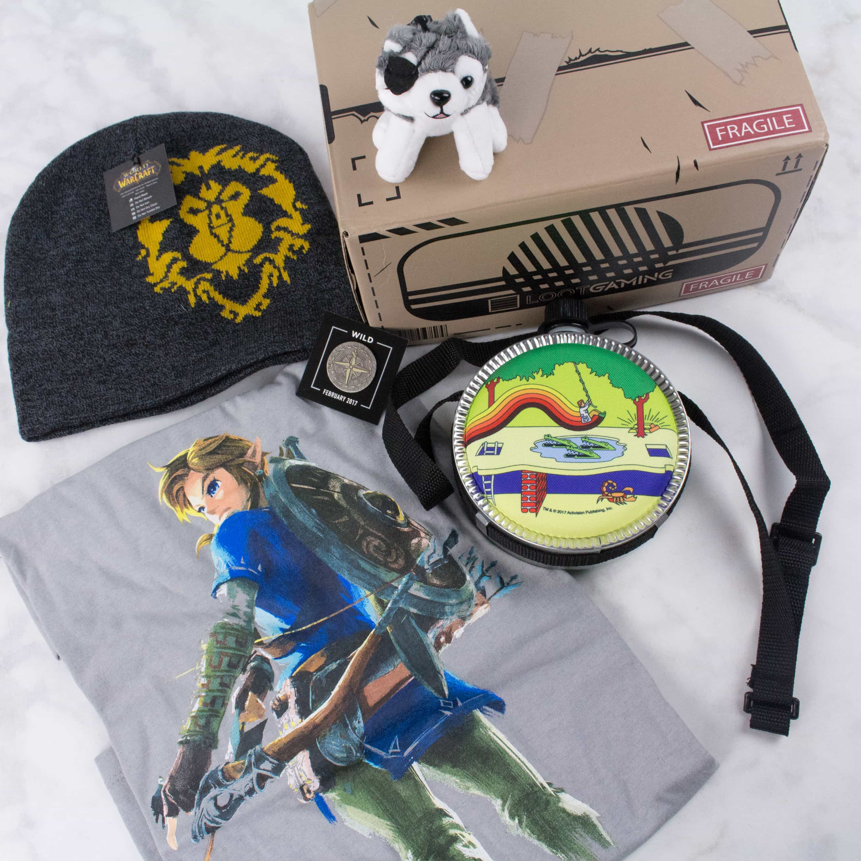 Loot Gaming February 2017 Subscription Box Review & Coupon – WILD