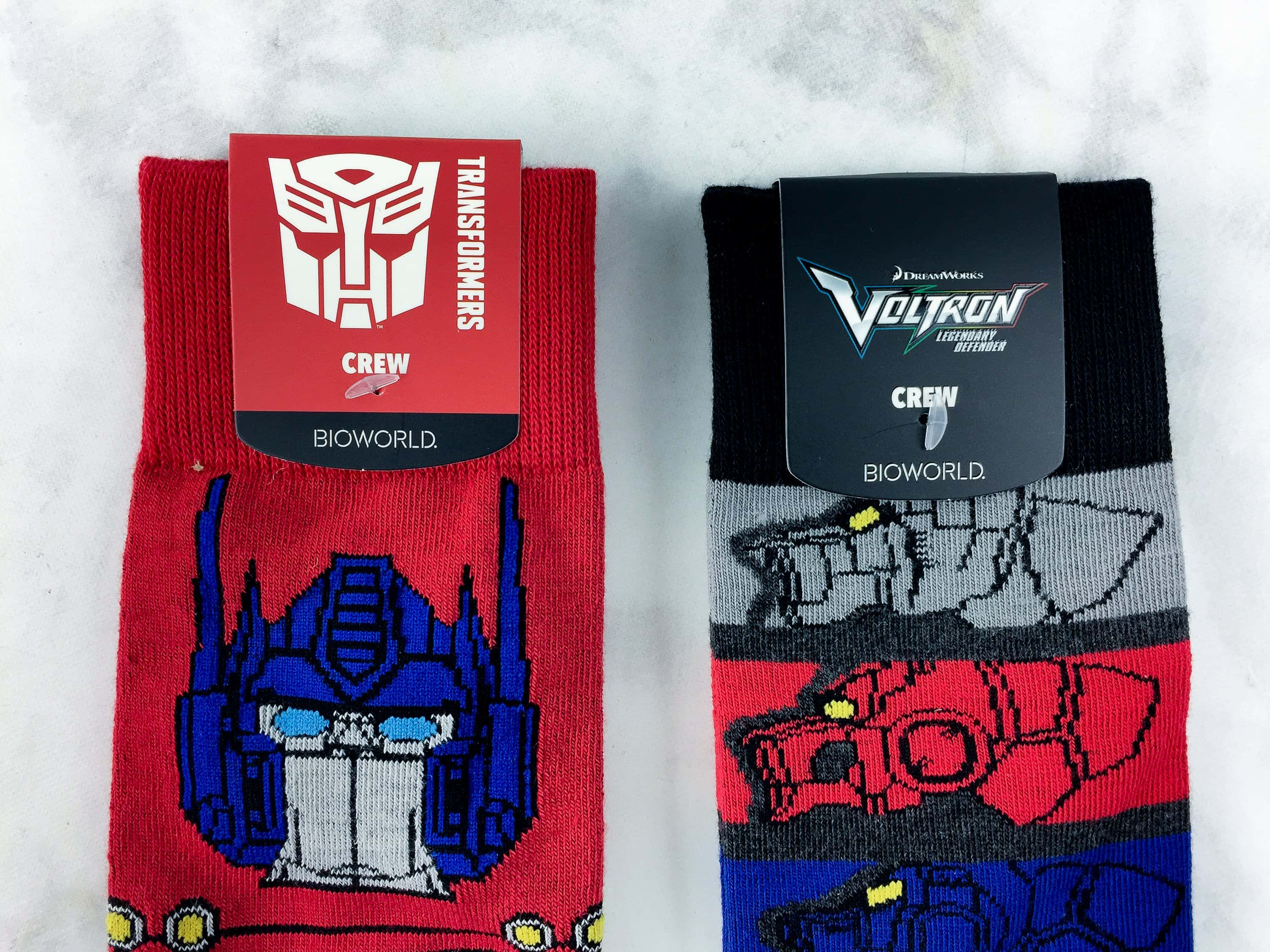 Loot Socks by Loot Crate February 2017 Subscription Box Review & Coupon
