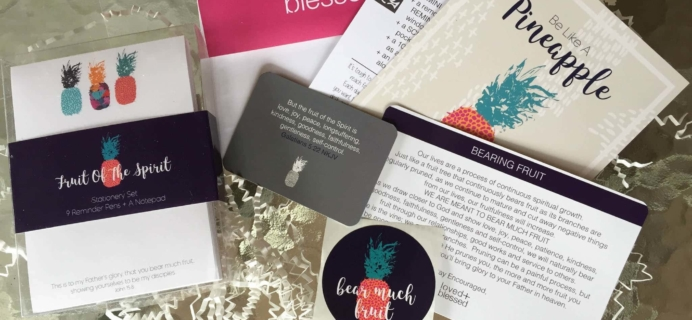 Loved+Blessed April 2017 Subscription Box Review + Coupon