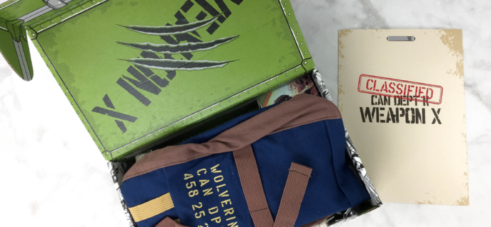 Marvel Gear + Goods March 2017 Subscription Box Review + Coupon!