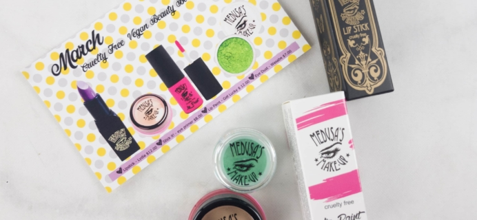 Medusa's Make-Up Beauty Box Subscription Box Review – March 2017