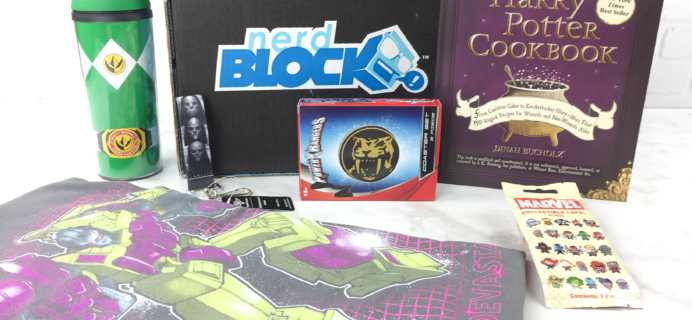 Nerd Block March 2017 Subscription Box Review + Coupon
