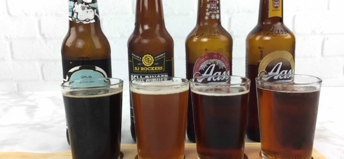 The U.S. and International Variety Beer Club March 2017 Subscription Box Review + Coupons