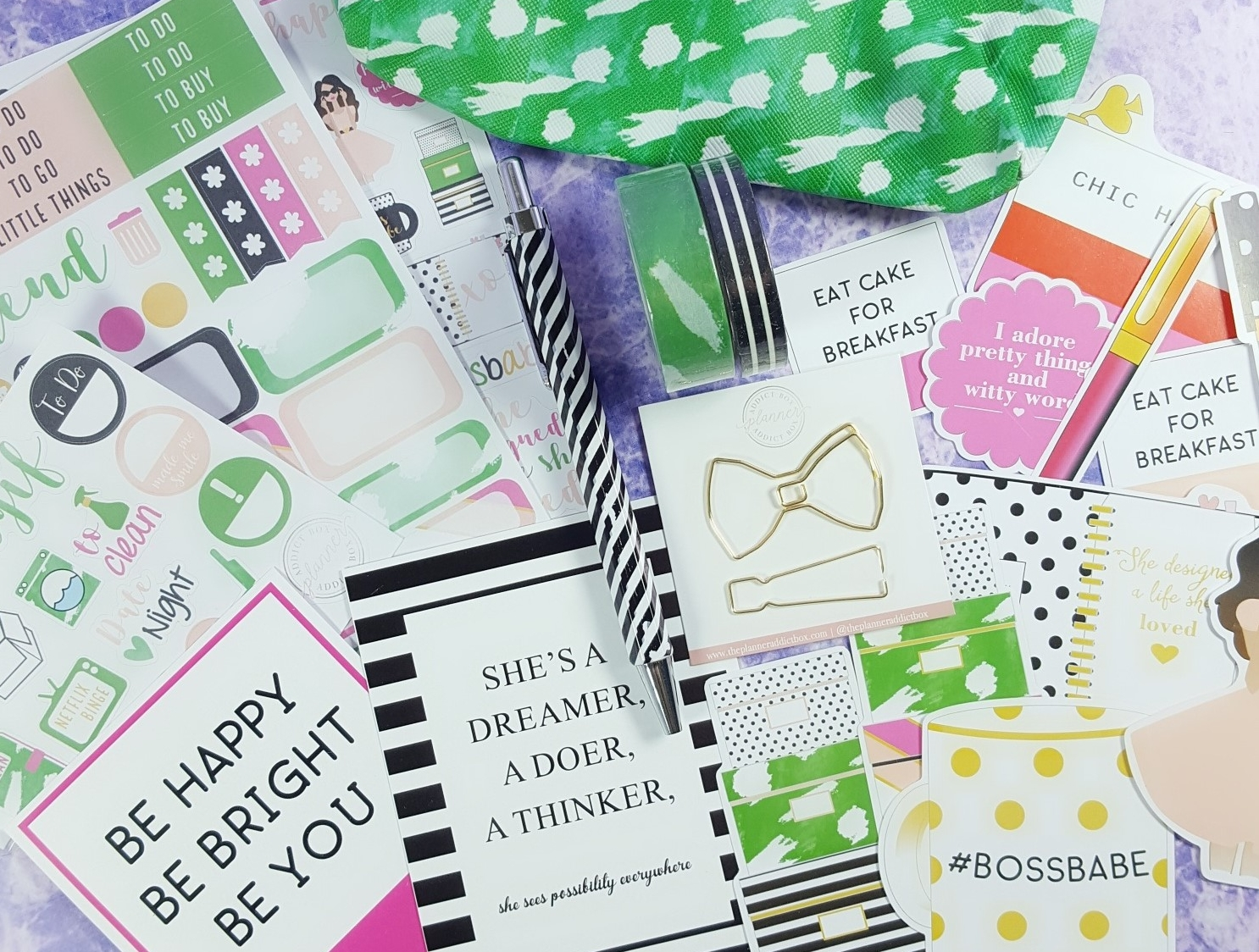 The Planner Addict Box March 2017 Subscription Box Review