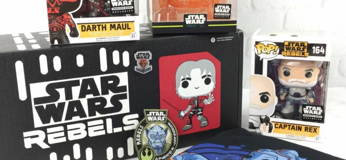 Smuggler's Bounty March 2017 Subscription Box Review – REBELS!
