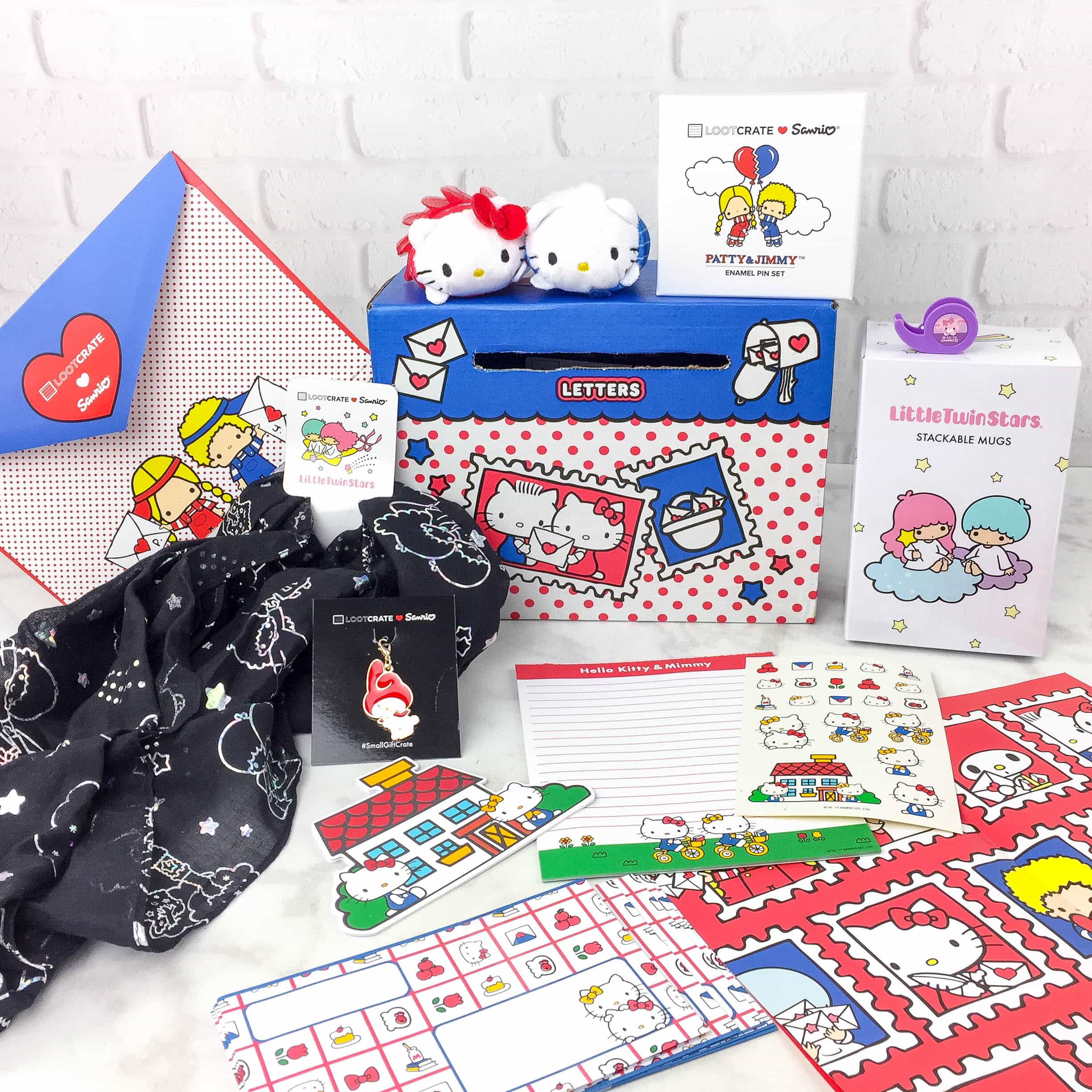 Sanrio Small Gift Crate Spring 2017 Subscription Box Review