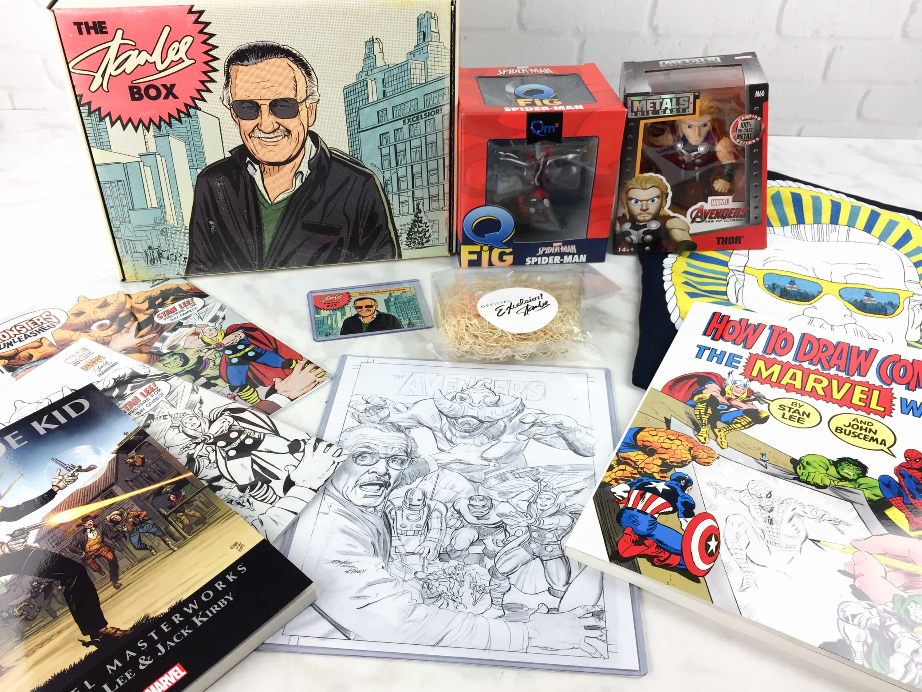 The Stan Lee Box February 2017 Subscription Box Review