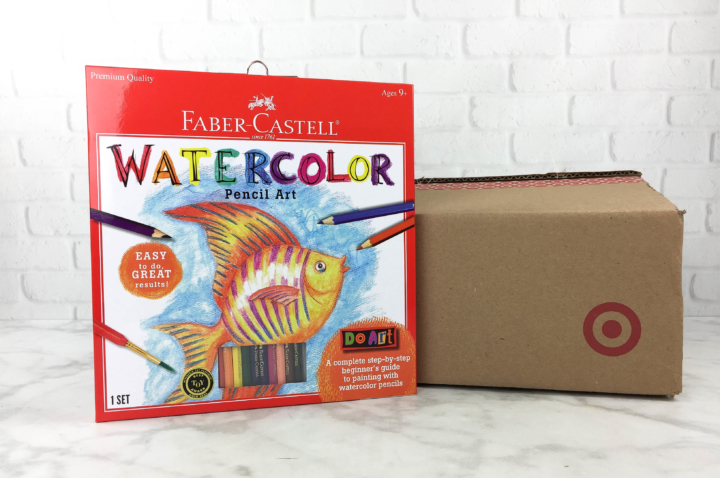Target Art & Craft Kit March 2017 Review - hello subscription